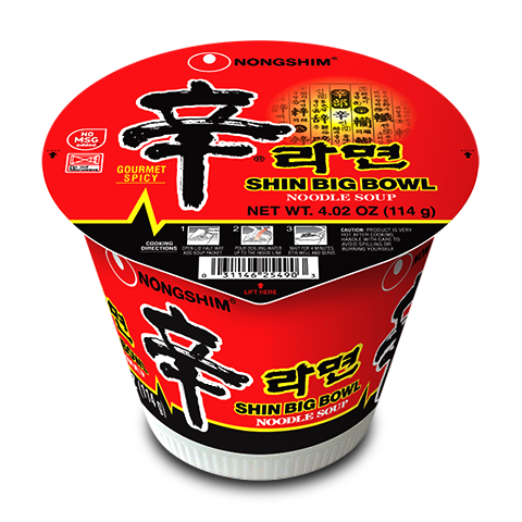 Shin Ramyun Big Bowl Noodle Soup World Of Shin