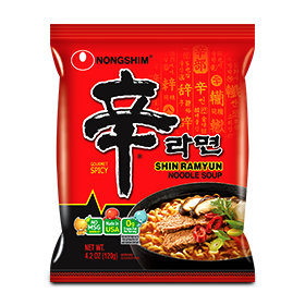 Image for Shin Ramyun Noodle Soup