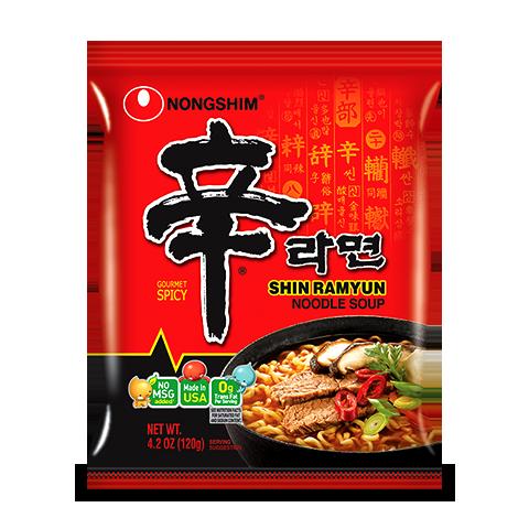Shin Ramyun Noodle Soup | World of Shin