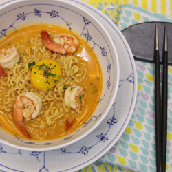 Photo of Shrimp Cream Cheese Shin Ramyun