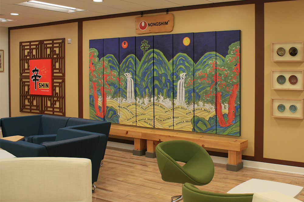 Photo of Indoor view decorated Korean Style