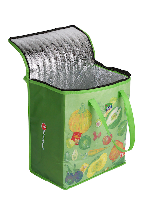 Image for Opened Insulated Shopping Bag